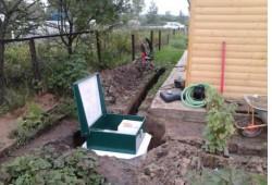 Как можно решать проблему канализации на даче?
